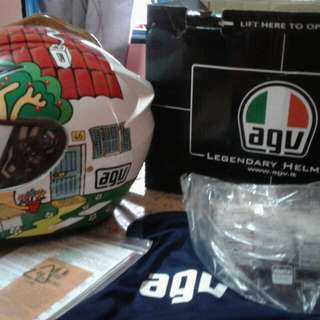 AGV Helmet k3 baru beberapa kali pakai.berminat pm sy.0142618009..sebut hrga berpatutan😦