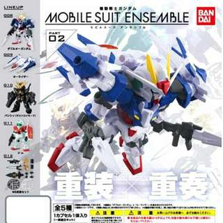 高達 扭蛋 Gundam Mobile Suit Ensemble 02