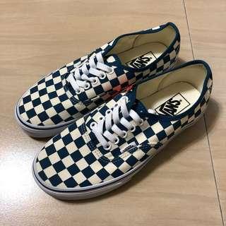 🚚 全新 Vans authentic checkerboard 藍格
