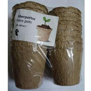 Fibre Pots/Fiber Potter
