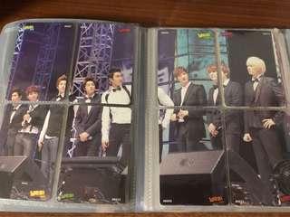 Super Junior/Super Junior M絕版珍藏yes card(拼圖卡)