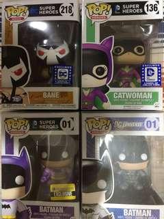 DC Comics Funko Pop