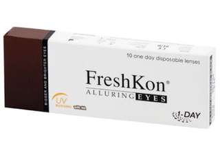 FreshKon® Alluring Eyes Disposable Contact Lenses