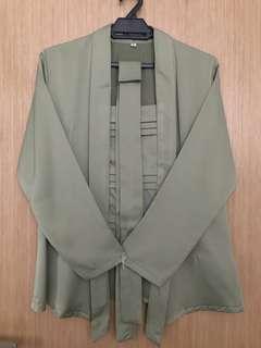 Kamelia KL Kebaya Top with belt [Worn Once]