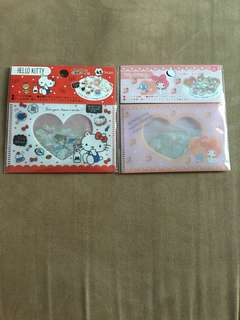 Sanrio Stickers ( Hello Kitty/My Melody)