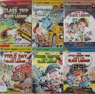 Black Lagoon Adventures Bundle of 6