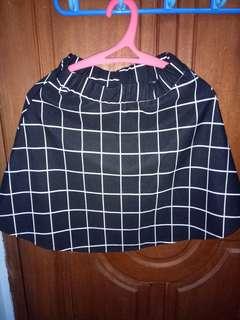 Stripe Square Skirt