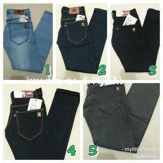 Koleksi celana jeans kualitas premium