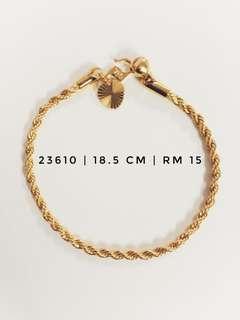 Emas Korea 24K Kod 23610