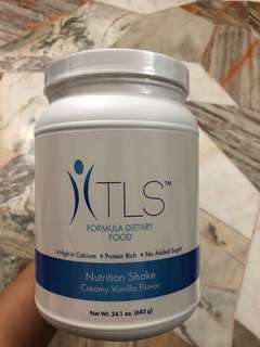 TLS Weight Loss Solution- Formula Dietary Food Nutrition Shake- Creamy Vanilla Flavor ( Exp May'19)