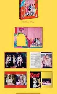 Red Velvet First Concert Red Room  photobook