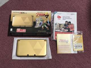 Zelda edition Nintendo 3DS XL for sale
