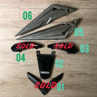 Yamaha Spark 135 Accessories