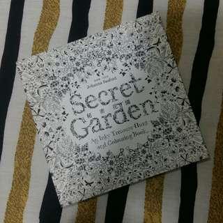[BN]Secret Garden Colouring Book (mini)