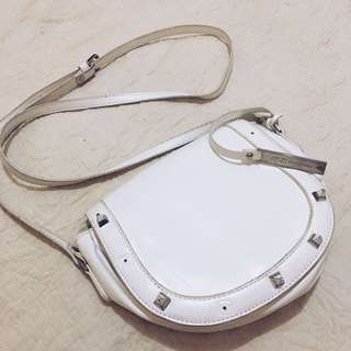 MC collection bag white (sling bang)