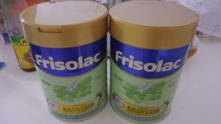 2 OPENED CAN FRISOLAC 2
