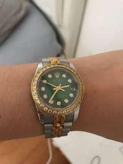 Rolex Green Face for Women