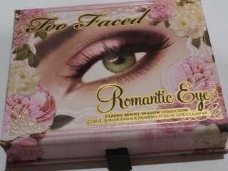 Preloved TOO FACED romantic eye palette