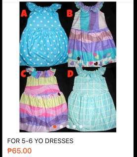 5-6 yo dresses