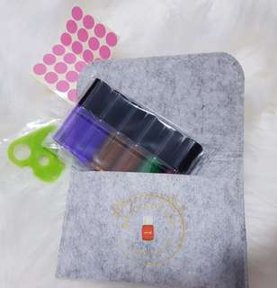 Essential oil Roller bottles pouch