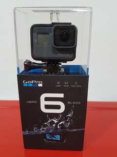GoPro Hero 6 (New & Sealed)