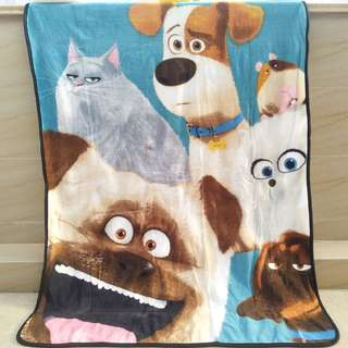 PO The Secret Life Of Pets Blanket