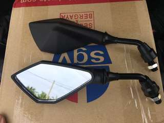 RS150 side mirror Rendah/Smart/Kemas