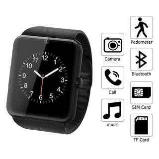 AC459 - GT08 BT智能手錶帶攝像頭帶SIM卡插槽和健康手錶智能手錶適用於三星HTC和其他Android智能手機