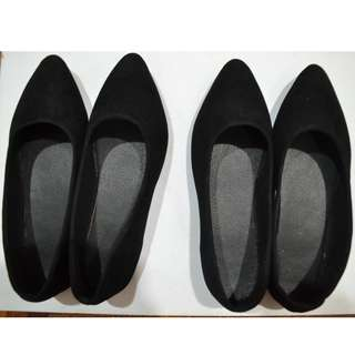 Pointed flats (Black) Buy 1 Free 1