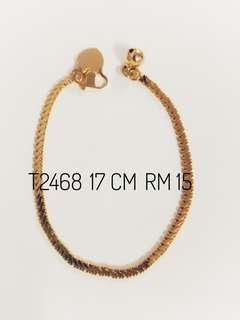 Emas Korea 24K Kod T2468