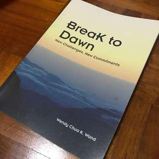 Break to dawn book
