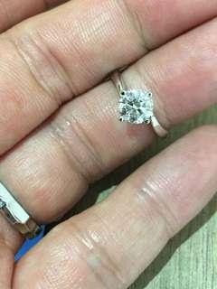 18k金鑽石戒指💍1D-1.11ct GH高色好🔥$17800