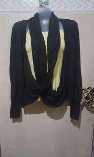 Kashieca black cardigan