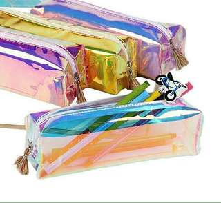 [NEW] Transparant hologram pencil case