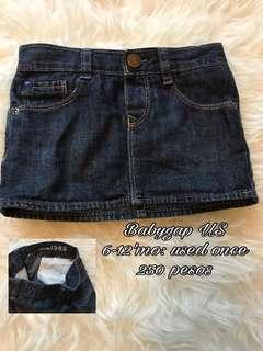 Baby Gap skirt 6m to 1yo