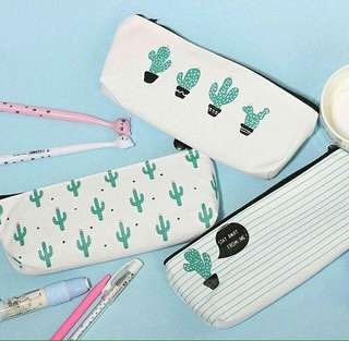 [new]Cactus pencil case