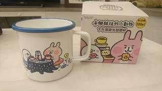 🚚 卡赫娜拉小動物 下午茶時光琺瑯杯