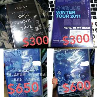 cnblue DVD package