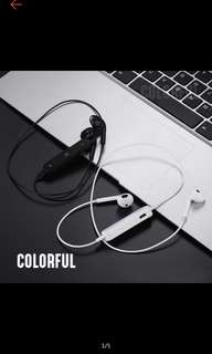 S6 Bluetooth earphone white