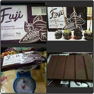 Fuji chocolate bar