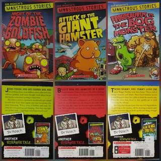 Dr Roach's Monstrous Stories Bundle of 3