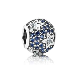 Pandora Sterling Silver Follow The Stars Zirconia Bead 791382CZ