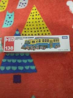 全新 TOMICA 138 locomotive type bus seishungo