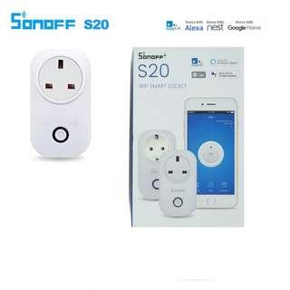 🚚 Sonoff S20 WIFI Smart Wall Plug