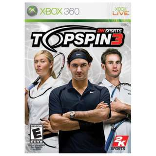 XBOX360 Topspin 3