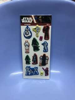 貼紙 Star Wars星戰 Disney 全新