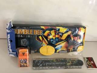 Transformer Pencil Case & Stationery