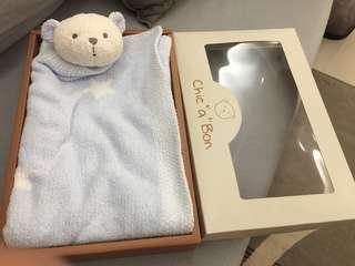 🚚 奇哥小熊超柔毯76*76cm