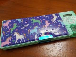 Smiggle Unicorn Pencil Case