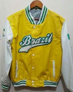 Jaket varsity brazil